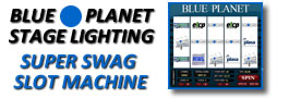 Blue Planet Lighting Super Swag Slot Machine
