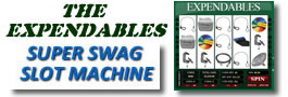 The Expendables Super Swag Slot Machine