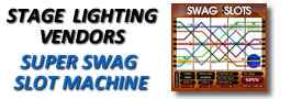 Stage Lighting Vendors Super Swag Slot Machine